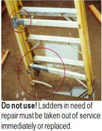 Fall Protection Ladder Safety Uva Ehs